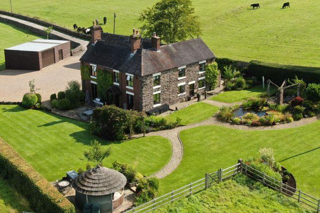 Thumbnail Detached house for sale in Abbey Grove Farm, Randles Lane, Wetley Rocks, Staffordshire