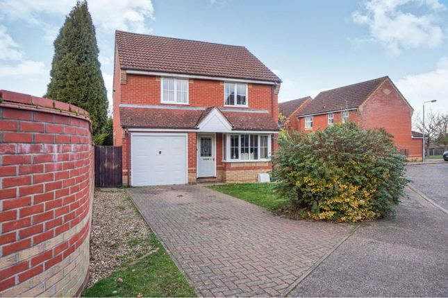 Thumbnail Detached house for sale in Newstead Walk, Roydon, Diss