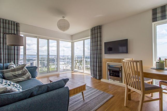 Thumbnail Flat for sale in The Pinnacle, Penarth Heights, Penarth
