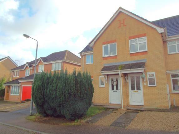 Thumbnail Semi-detached house for sale in Taverham, Norwich, Norfolk