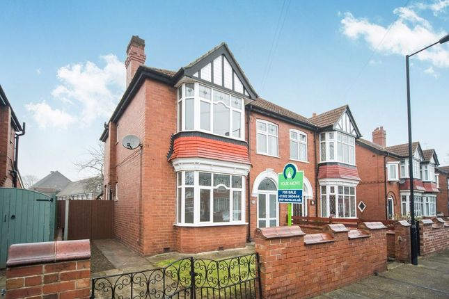 Thumbnail Semi-detached house for sale in Sandbeck Road, Bennetthorpe, Doncaster