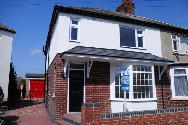 Thumbnail Semi-detached house for sale in Gateford Avenue, Worksop, Nottinghamshire