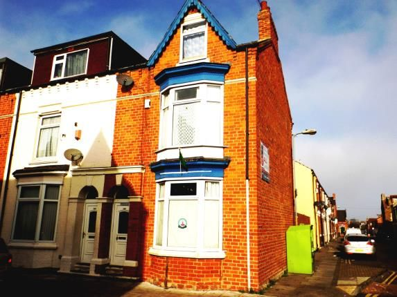 Thumbnail End terrace house for sale in Victoria Road, Middlesbrough