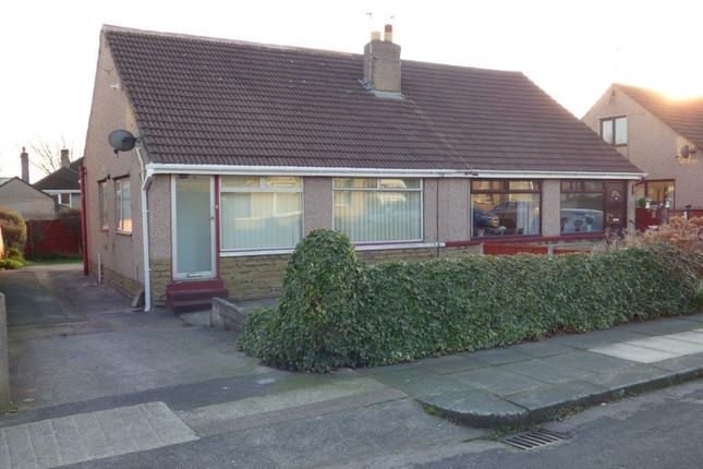 Thumbnail Semi-detached bungalow to rent in Rochester Avenue, Westgate, Morecambe, Lancashire