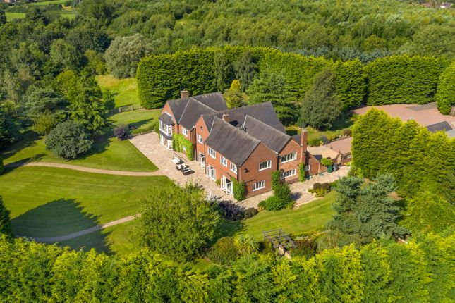 Thumbnail Detached house for sale in Oldicote Lane, Bretby, Burton-On-Trent, Staffordshire