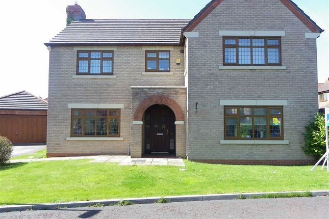 Thumbnail Detached house to rent in Swarbrick Avenue, Grimsargh, Preston