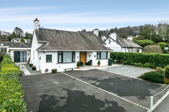Thumbnail Detached bungalow for sale in Glebe Holme, Glebe Road, Bowness-On-Windermere, Cumbria