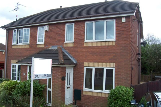 Thumbnail Property to rent in Richmond Drive, Mansfield Woodhouse, Nottinghamshire