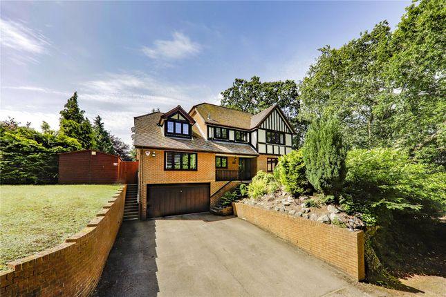 Thumbnail Detached house for sale in Forest End, Sandhurst, Berkshire