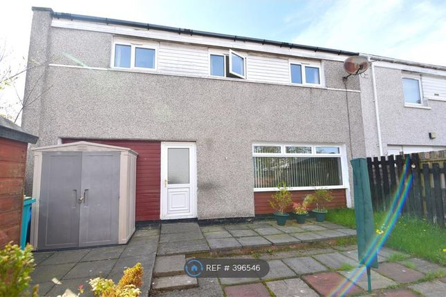 Thumbnail End terrace house to rent in Torbrex Road, Cumbernauld, Glasgow