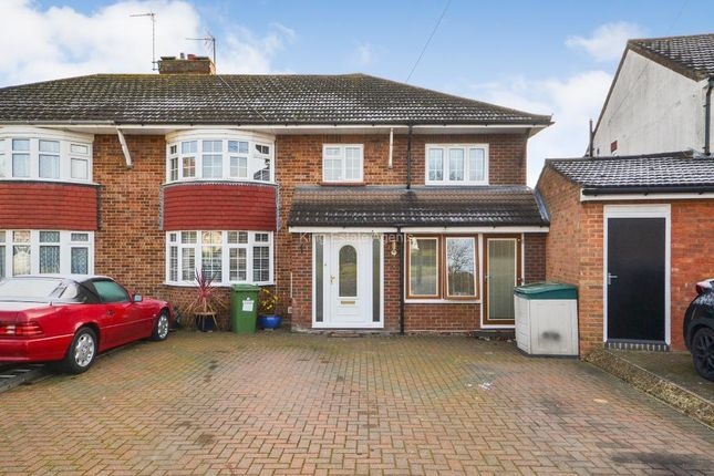 Thumbnail Semi-detached house for sale in St. Catherines Avenue, Bletchley, Buckinghamshire