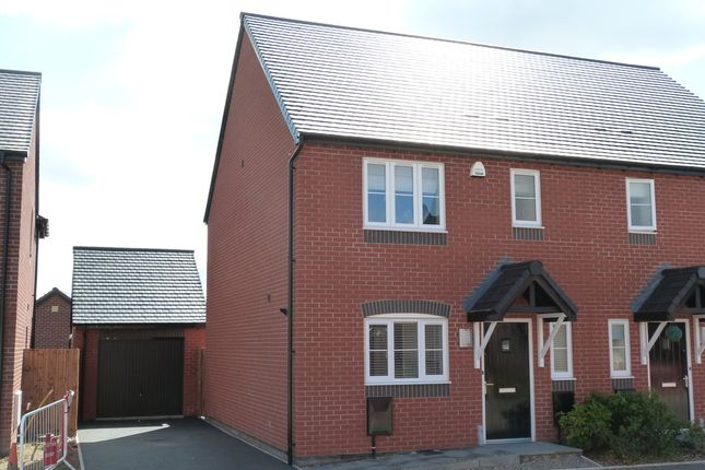 Semi-detached house to rent in Fox Lane, Green Street, Kempsey, Worcester