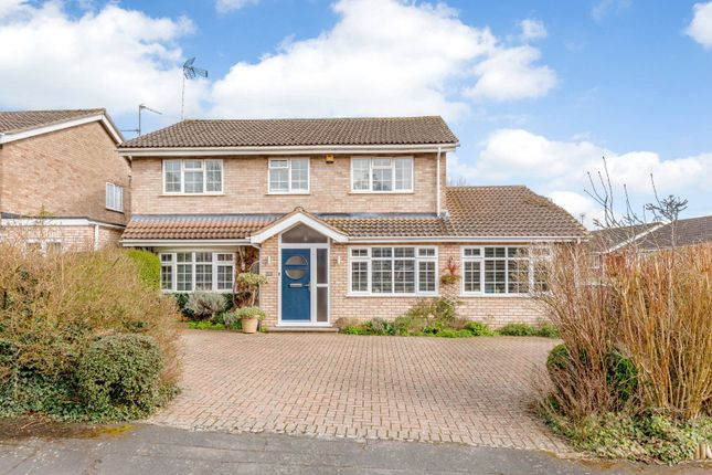 Thumbnail Detached house for sale in Blenheim Way, Market Harborough, Leicestershire