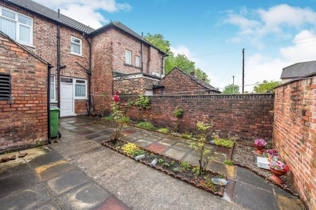 Garden of Broad Green Road, Old Swan, Liverpool, Uk L13