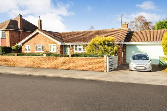 Thumbnail Detached bungalow for sale in Beauchamp Road, West Molesey