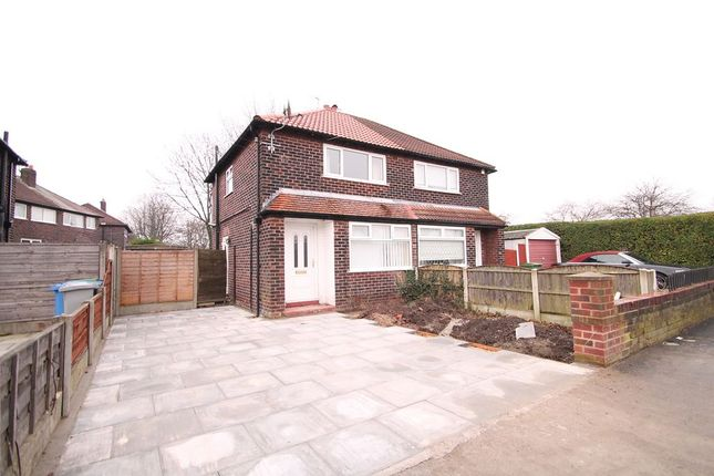Thumbnail Semi-detached house to rent in Newton Road, Altrincham