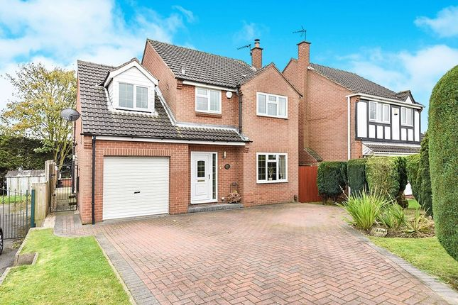 Thumbnail Detached house for sale in Oakdale Road, Broadmeadows, South Normanton, Alfreton
