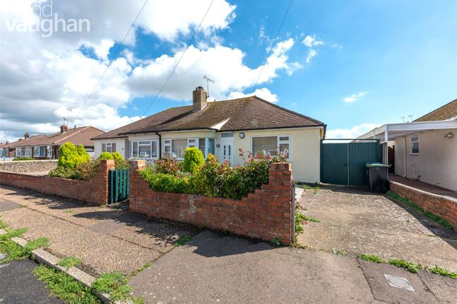 3 bed semi-detached bungalow to rent in The Crescent, Lancing, West Sussex BN15