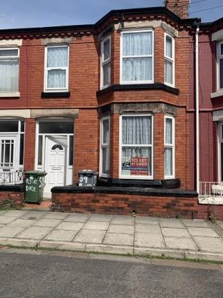 3 bed terraced house to rent in Rosedale Road, Tranmere CH42