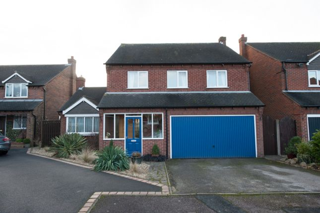 Thumbnail Detached house for sale in Walrand Close, Wigginton, Tamworth