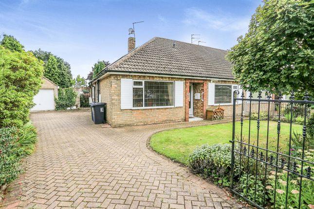 Thumbnail Semi-detached bungalow for sale in Oakland Avenue, Hatfield, Doncaster