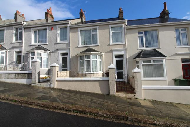 Thumbnail Terraced house for sale in Faringdon Road, Plymouth