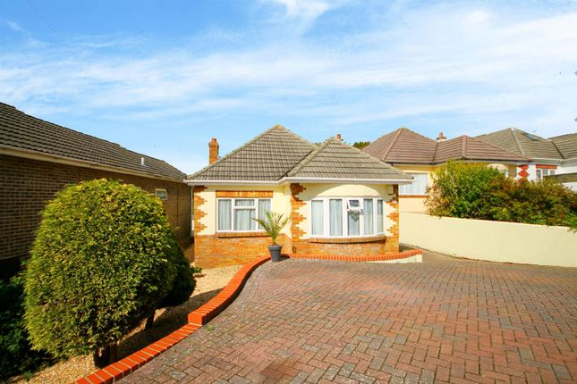 Thumbnail Detached bungalow for sale in Rose Crescent, Oakdale, Poole