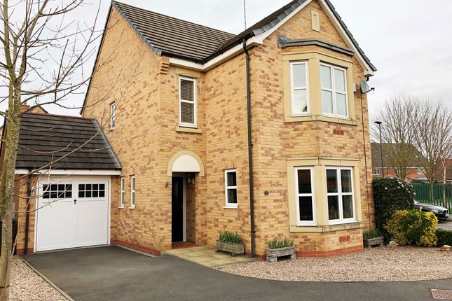 Thumbnail Detached house for sale in Rosyth Crescent, Chellaston, Derby