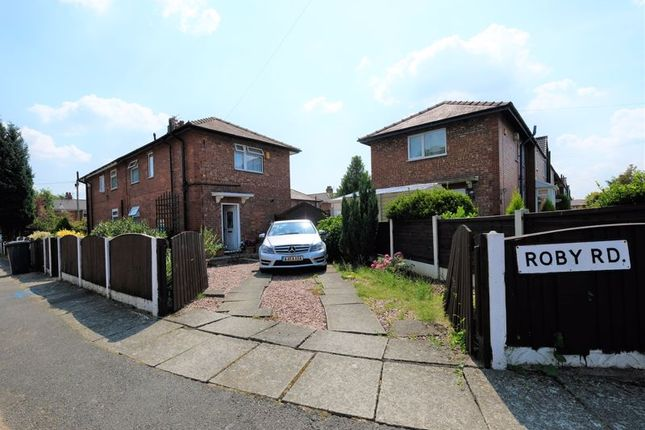 3 bed semi-detached house for sale in Roby Road, Eccles, Manchester M30