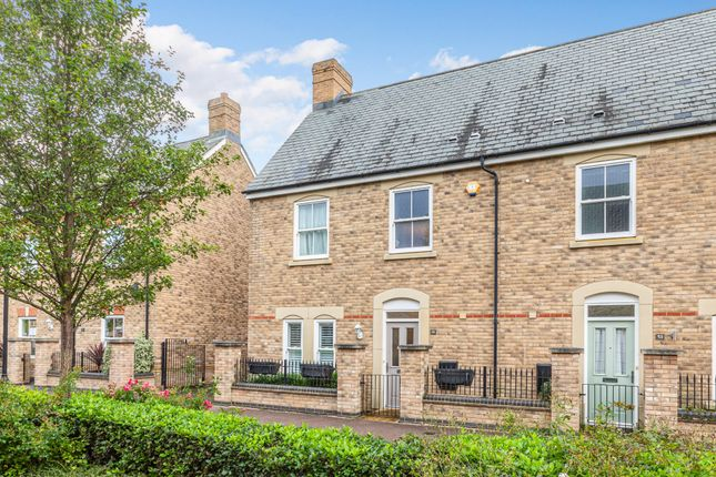 Thumbnail End terrace house for sale in Charlotte Avenue, Fairfield, Herts