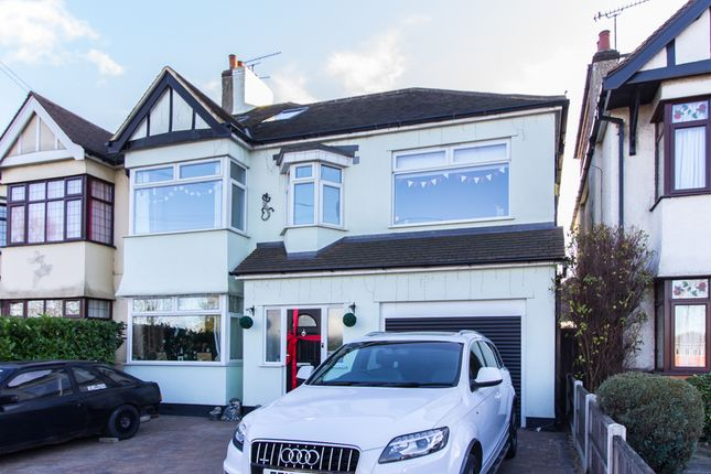 Thumbnail Semi-detached house for sale in Eastern Avenue, Southend-On-Sea