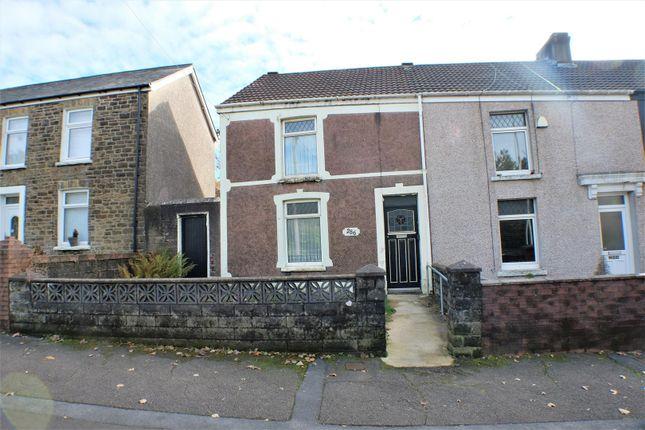Exterior of Jersey Road, Bonymaen, Swansea SA1