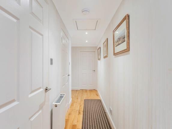 Hallway of St. Columba Place, Nelson St, Largs, North Ayrshire KA30