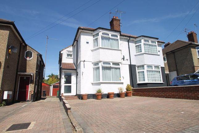 Thumbnail Semi-detached house for sale in Court Farm Road, Northolt