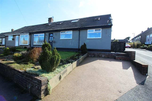 Thumbnail Semi-detached bungalow for sale in Broadley Crescent, Mount Tabor, Halifax