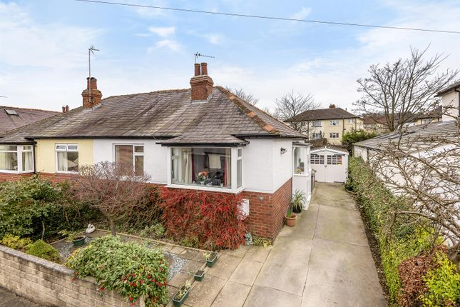 Thumbnail Semi-detached bungalow for sale in Markham Avenue, Rawdon, Leeds
