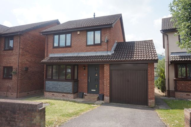 Thumbnail Detached house for sale in Llanover Way, Ysbytty Fields, Abergavenny