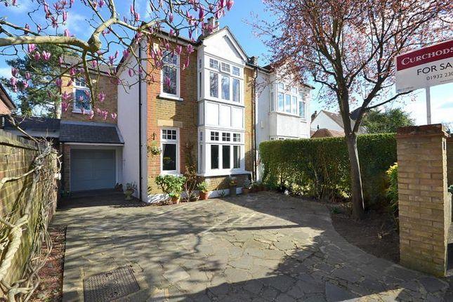 Thumbnail Semi-detached house for sale in Broadlands Avenue, Shepperton