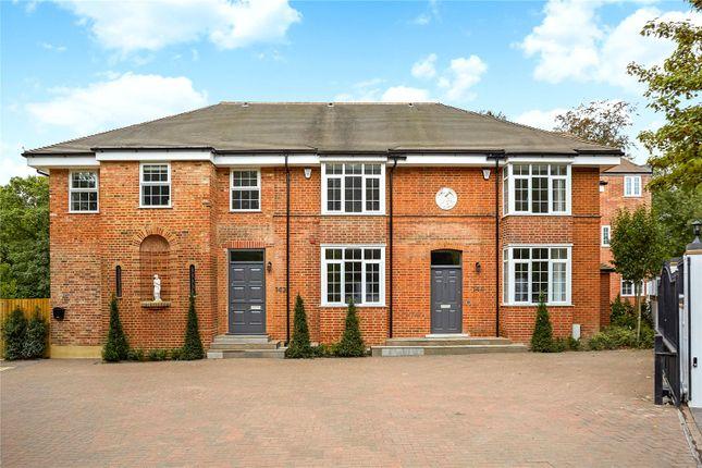 Thumbnail Terraced house for sale in Chobham Road, Sunningdale, Berkshire