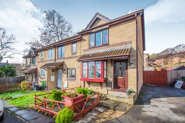 Thumbnail End terrace house for sale in Heather Court, Ty Canol, Cwmbran