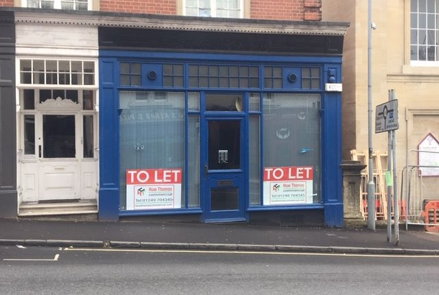 Thumbnail Retail premises to let in Station Hill, Chippenham