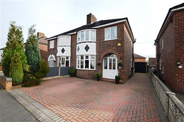 Thumbnail Semi-detached house for sale in Downing Avenue, May Bank, Newcastle-Under-Lyme