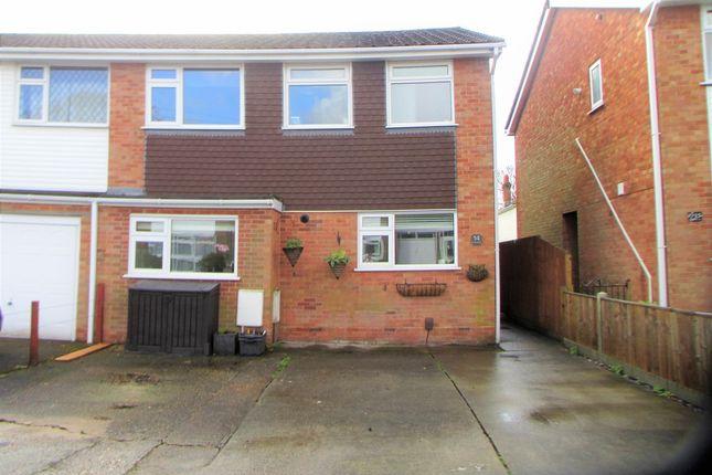 Thumbnail Semi-detached house for sale in Flowers Close, Hamble, Southampton