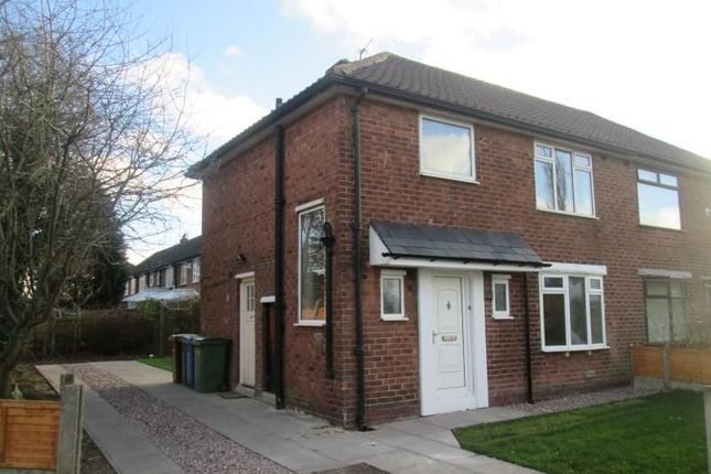 Thumbnail Semi-detached house to rent in Turves Road, Cheadle Hulme, Cheadle