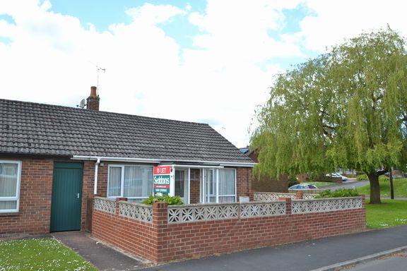 Thumbnail Semi-detached bungalow to rent in Elmore Way, Tiverton