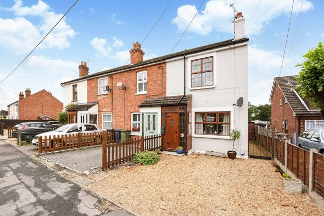Thumbnail End terrace house for sale in Frimley Road, Ash Vale