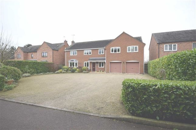 Thumbnail Detached house for sale in Stanhope Green, Bretby, Burton On Trent