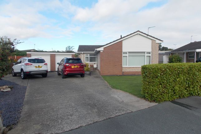 Thumbnail Bungalow for sale in Ffordd Siarl, St. Asaph