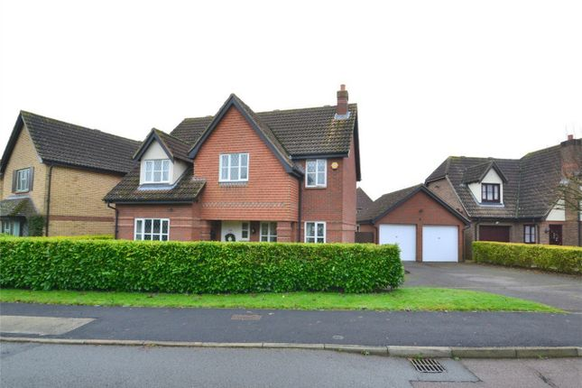 Thumbnail Detached house for sale in Owl Way, Hartford, Huntingdon, Cambridgeshire