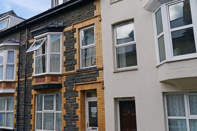 Thumbnail Town house to rent in 14, Portland Road, Aberystwyth